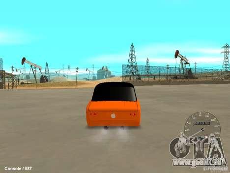 VAZ 2101 Hobo pour GTA San Andreas laissé vue