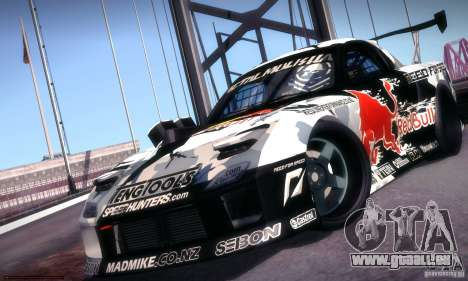 Mazda RX-7 Mad Mike für GTA San Andreas zurück linke Ansicht