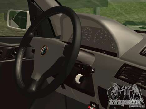 Alfa Romeo 155 1992 pour GTA San Andreas vue de côté