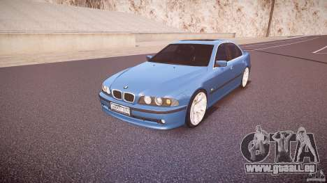 BMW 530I E39 e63 white wheels für GTA 4