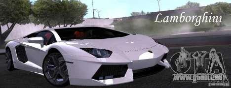 Lamborghini Aventador LP700-4 Final pour GTA San Andreas