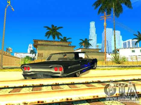 Le nouveau graphique par jeka_raper pour GTA San Andreas troisième écran