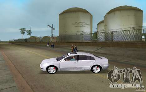 Skoda Superb 2.2 v.4 final für GTA Vice City linke Ansicht