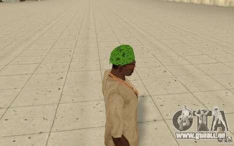 Bandana grün maryshuana für GTA San Andreas zweiten Screenshot