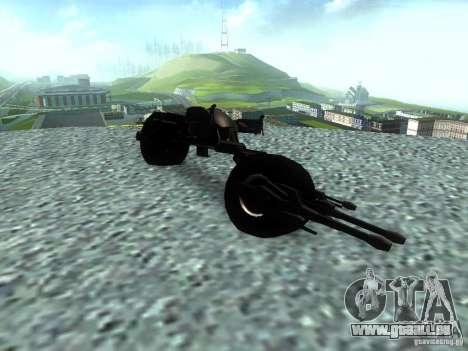 Batpod pour GTA San Andreas vue de droite
