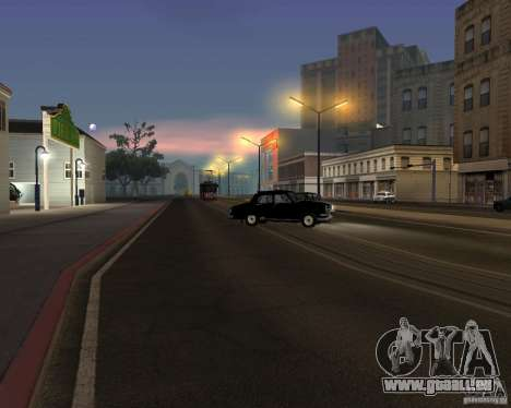 LM-2008 für GTA San Andreas Innen