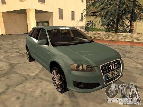 Audi S3 Sportback 2007 für GTA San Andreas