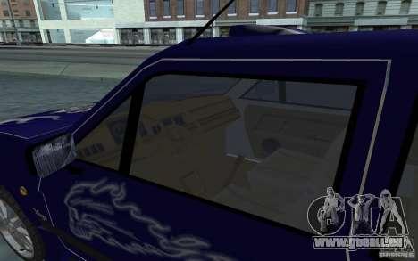 Yugo 45 Tuneable pour GTA San Andreas vue de dessus