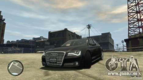 Audi A8 V8 FSI für GTA 4