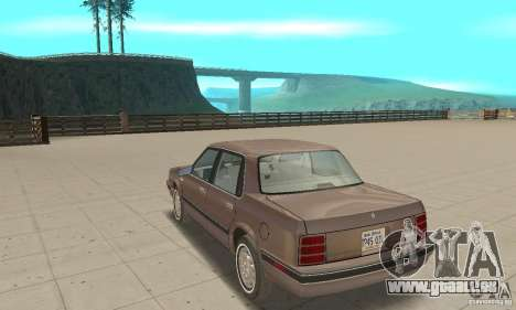 Oldsmobile Cutlass Ciera 1993 für GTA San Andreas rechten Ansicht