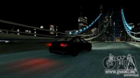 Audi A8 LED 2012 für GTA 4 Innenansicht