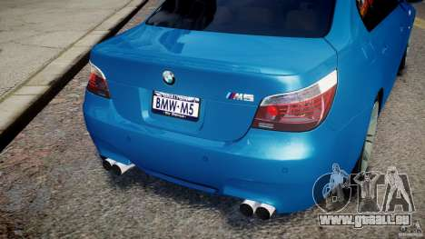 BMW M5 E60 2009 pour GTA 4