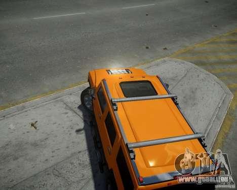 Hummer H2 2010 Limited Edition für GTA 4 rechte Ansicht