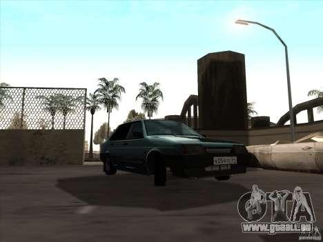 Drain de VAZ 21099 pour GTA San Andreas vue de droite