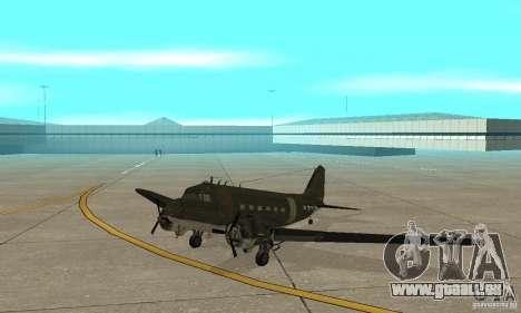 C-47 Skytrain pour GTA San Andreas laissé vue