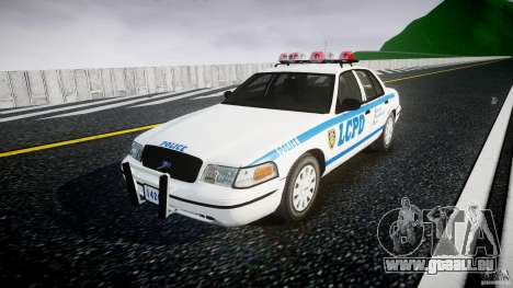 Ford Crown Victoria Police Department 2008 LCPD pour GTA 4