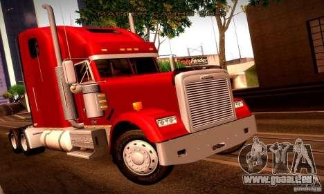 Freightliner Classic XL pour GTA San Andreas moteur