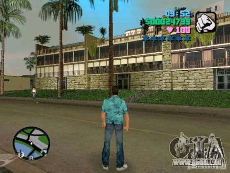 New hotel für GTA Vice City zweiten Screenshot