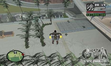 Paradise Beach pour GTA San Andreas deuxième écran