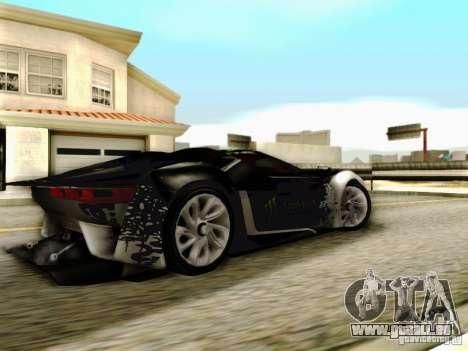 Citroen GT Gymkhana für GTA San Andreas zurück linke Ansicht