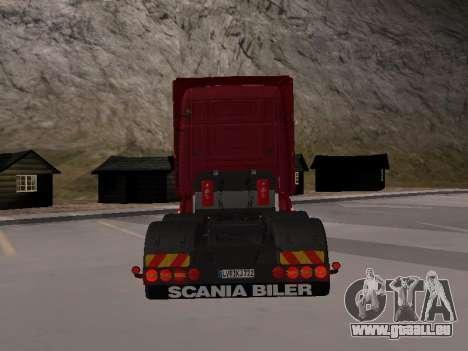 Scania 460 pour GTA San Andreas vue de droite