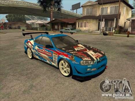 Nissan Skyline GT-R R34 Super Autobacs pour GTA San Andreas laissé vue