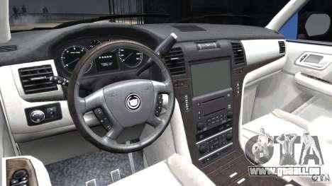 Cadillac Escalade [Beta] pour GTA 4 est un droit
