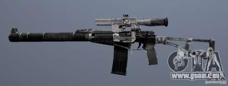 Comme fusil d'assaut de Val pour GTA San Andreas quatrième écran