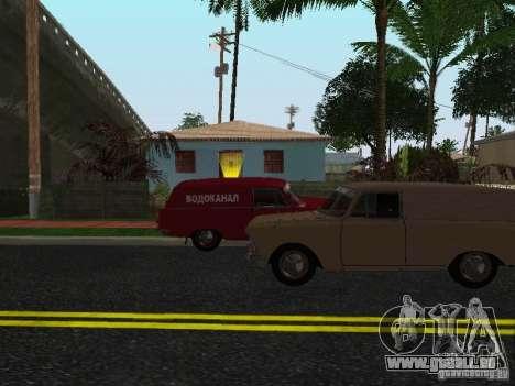Moskvich 434 pour GTA San Andreas laissé vue