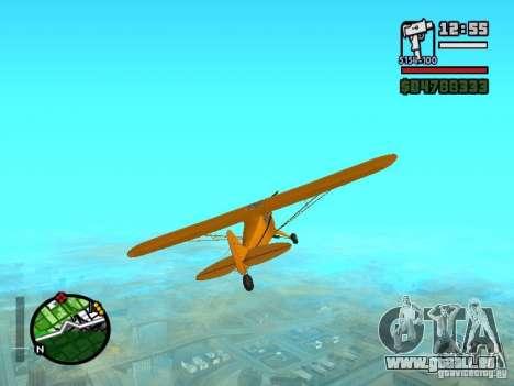 Piper J-3 Cub pour GTA San Andreas vue de droite