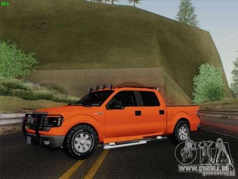 Ford F-150 pour GTA San Andreas vue de côté