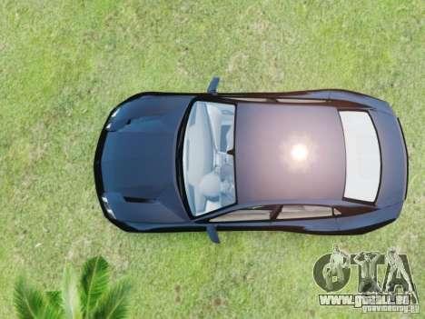 Lamborghini Estoque pour GTA 4 Vue arrière de la gauche