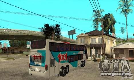 Marcopolo Paradiso 1800 G6 8x2 pour GTA San Andreas vue de droite