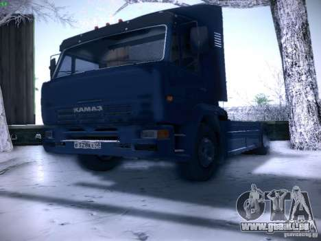 KAMAZ-5460-Sport für GTA San Andreas rechten Ansicht