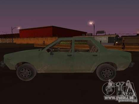Machine de CoD: MW pour GTA San Andreas laissé vue
