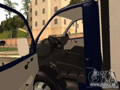 GAZ 3302-14 für GTA San Andreas Rückansicht