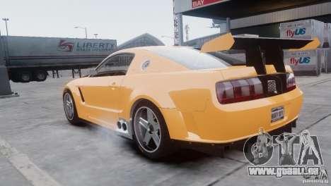 Ford Mustang GT-R pour GTA 4 Vue arrière de la gauche