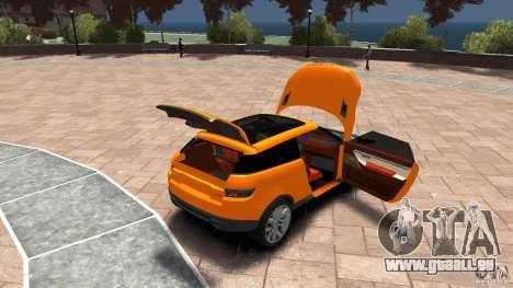 Range Rover LRX 2010 pour GTA 4 est un côté