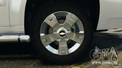 Chevrolet Suburban GMT900 2008 v1.0 für GTA 4 Unteransicht