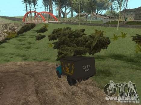 GAZ 52 für GTA San Andreas rechten Ansicht
