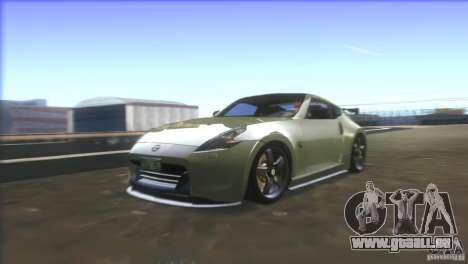 Nissan 370Z Drift 2009 V1.0 pour GTA San Andreas moteur