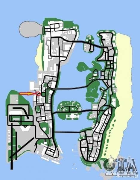 Der 2 Fast 2 Furious Shop GTA Vice City pour la troisième écran