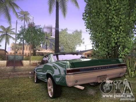 Pontiac GTO 65 für GTA San Andreas rechten Ansicht