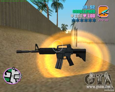 M4 von Counter Strike Source für GTA Vice City