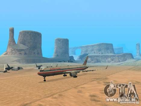 Boeing 767-300 American Airlines pour GTA San Andreas