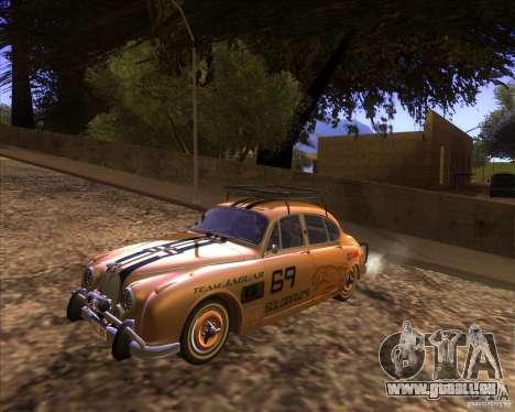 Jaguar MK2 1959-1967 pour GTA San Andreas vue intérieure
