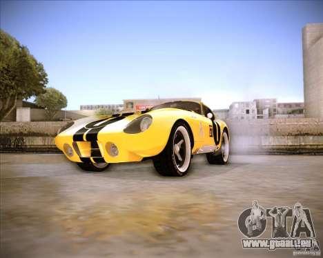 Shelby Cobra Daytona Coupe 1965 für GTA San Andreas rechten Ansicht