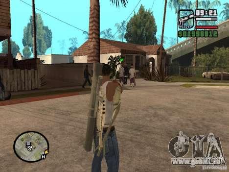 La vue standard pour GTA San Andreas deuxième écran