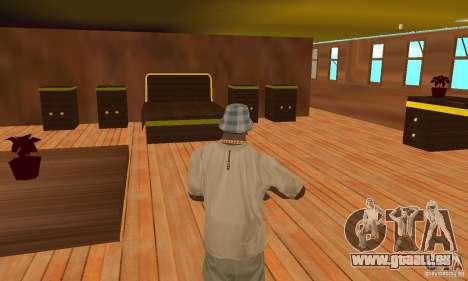 RMS Titanic pour GTA San Andreas salon