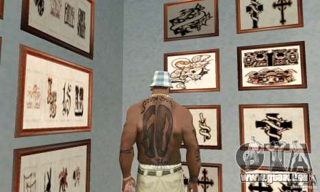 50cent_tatu pour GTA San Andreas